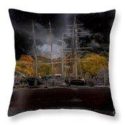 Nautical-7-a Throw Pillow