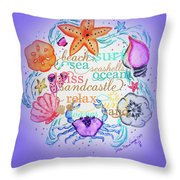 Nautical Creation By Dee  Throw Pillow