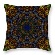 Nautical Wheel Throw Pillow