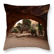 Navajo Arch Throw Pillow
