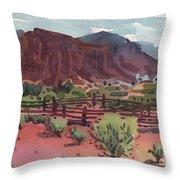 Navajo Corral Throw Pillow