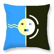 Navajo Eclipse Throw Pillow