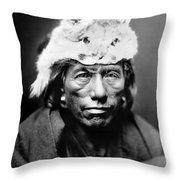Navajo Man, C1905 Throw Pillow