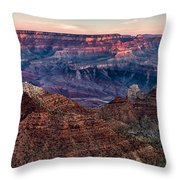Navajo Point Sunrise Throw Pillow