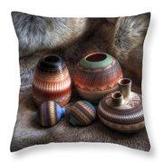 Navajo Pottery Throw Pillow
