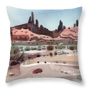 Navajoland Throw Pillow