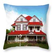 Navasota 3 Throw Pillow