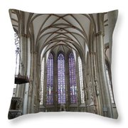 Nave - St Lambertus - Germany Throw Pillow