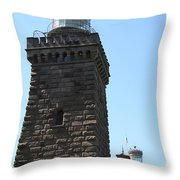 Navesink Twinlights II Throw Pillow