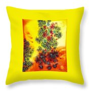 Navidades Galacticas Throw Pillow