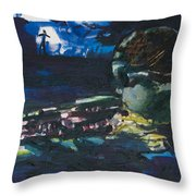 Navy Seal Throw Pillow