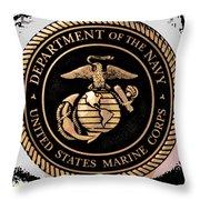 Navy Seal Throw Pillow