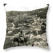 Nazareth, Palestine, C1920 Throw Pillow
