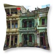 Nazdarovie Hotel Throw Pillow