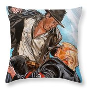 Nazis. I Hate Those Guys. Throw Pillow