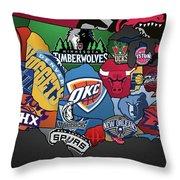 NBA Throw Pillow