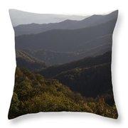 Nc Fall Foliage 0596 Throw Pillow