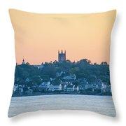 Near Easton Point - New Port Rhode Island Throw Pillow