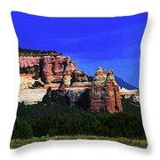 Near El  Morro National Monument Throw Pillow
