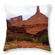 Near Moab 5 Throw Pillow