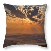 Near Sunset Throw Pillow