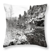 Near Telluride Colorado Throw Pillow