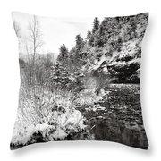 Near Telluride Colorado Throw Pillow