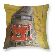Near Thistle  Ks Throw Pillow