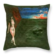 Near Wall II Throw Pillow