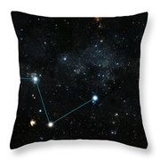 Nearest Exoplanet, Hd 219134 System Throw Pillow