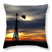 Nearing The End H B Throw Pillow
