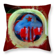 Nebraska Throw Pillow