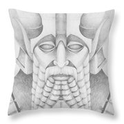 Nebuchadezzar Throw Pillow