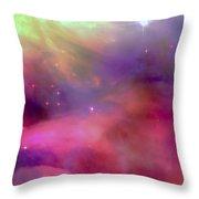 Nebula Light Throw Pillow