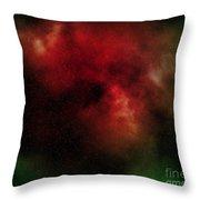 Nebula Throw Pillow by Michal Boubin