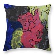 Nebulae 1 Throw Pillow