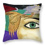 Nebular Throw Pillow