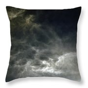Nebulis Throw Pillow