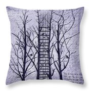 Neck Of The Woods II  Throw Pillow