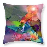 Nectar Of Heaven Throw Pillow