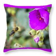 Nectar Run Throw Pillow