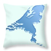 Nederland Waterland Throw Pillow