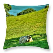 Need A Break... Throw Pillow
