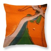 Need A Hand - Tile Throw Pillow