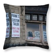 Need A Suit Throw Pillow
