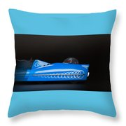 Need For Speed Throw Pillow by Rudy Umans