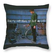 Needing Repair Quote Throw Pillow