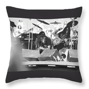 Needle And The Spoon In Oakland Throw Pillow
