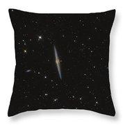 Needle Galaxy Throw Pillow