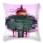Needle In A Raindrop Stack 2 Throw Pillow